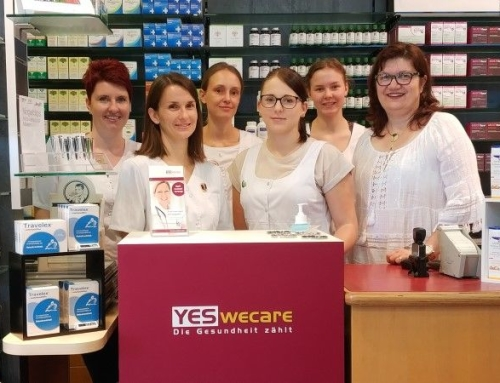 YES, WE CARE in der KULMLAND APOTHEKE – Vorsorgeaktion 2018